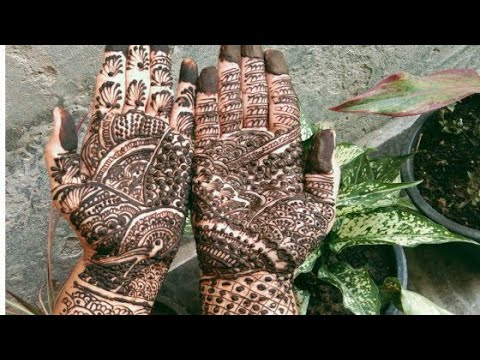 Karwa Chauth Mehandi 😍😍//Simple And Easy Mehandi Design😍😍//By Mix Punjabi Pk