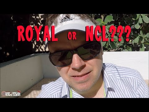 Royal or NCL Thoughts (from a sofa in Miami) - Sunday Storytime ep 11