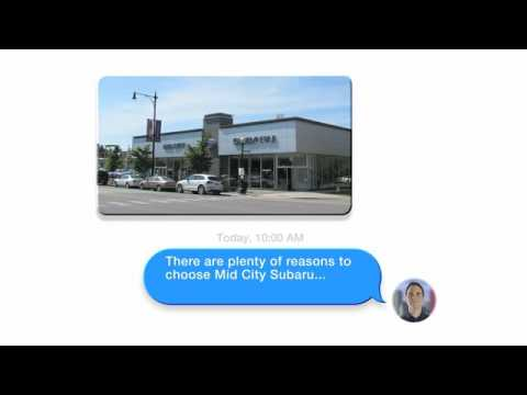 Mid City Subaru >> Berman Mid City Subaru Texting Tv Commercial Youtube