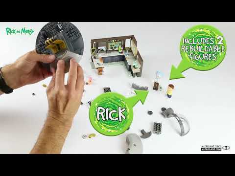 SPACESHIP AND GARAGE  Brand: Rick and Morty