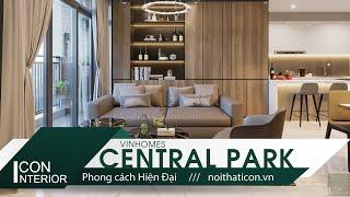 THIẾT KẾ HIỆN ĐẠI VỚI TÔNG CAMEL - Modern interior design in The color CAMEL #DesignedbyICON