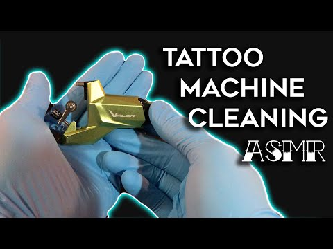 Tattoo Machine Cleaning ASMR