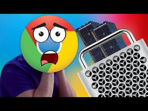 Mac Pro 1.5 TB RAM Upgrade vs Google Chrome