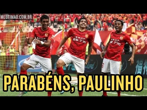 Paulinho faz o gol do título e é campeão na China