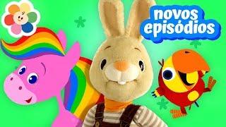 Vídeos Educativos Para Crianças – Compilação | Animais, Cores, Canções, Números e Mais! | BabyFirst