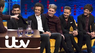 One Direction's Best Moments On The Jonathan Ross Show 🎸| 10 Years Of One Direction | ITV