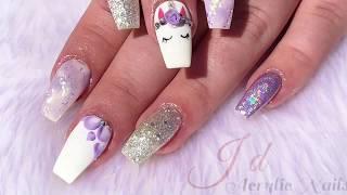 Acrylic nails | Unicorn Sparkle 🦄🦄🦄