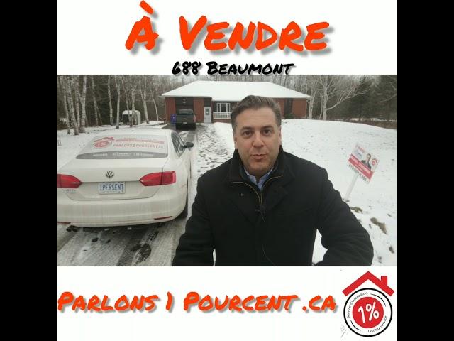 A vendre 688 Beaumont