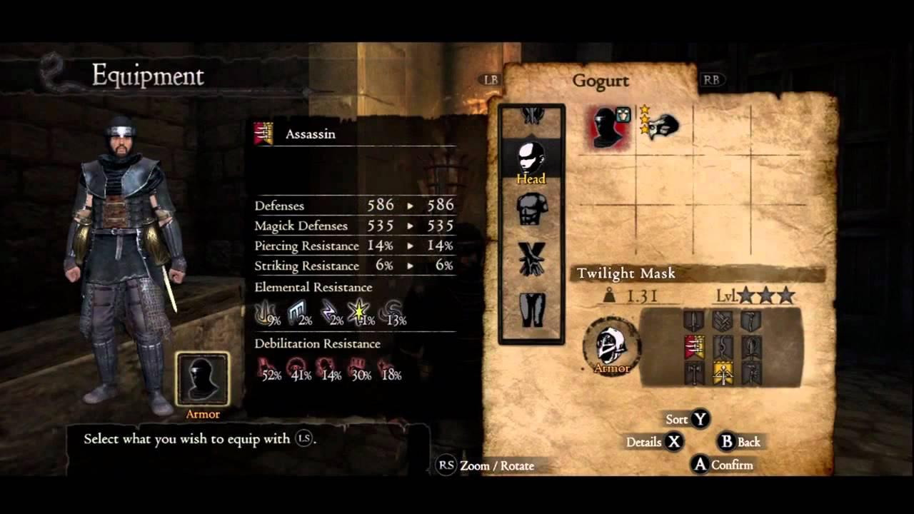 Dragons Dogma Everfall Loot Twilight Armor