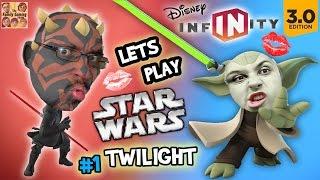 Lets Play DISNEY INFINITY 3.0 - STAR WARS:  KISS ME FGTEEV MOM!  (Twilight of the Republic #1)