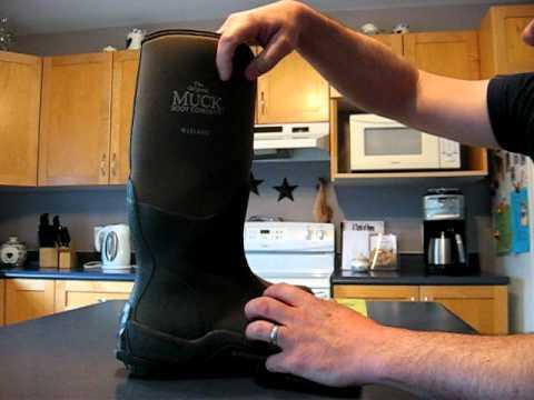 Muck Boots Wetland - YouTube