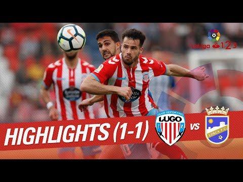 Resumen de CD Lugo vs Lorca FC (1-1)