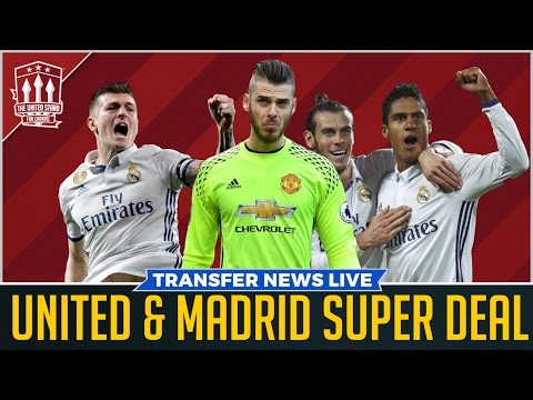MAN UTD & REAL MADRID In HUGE Summer Transfer DEAL!