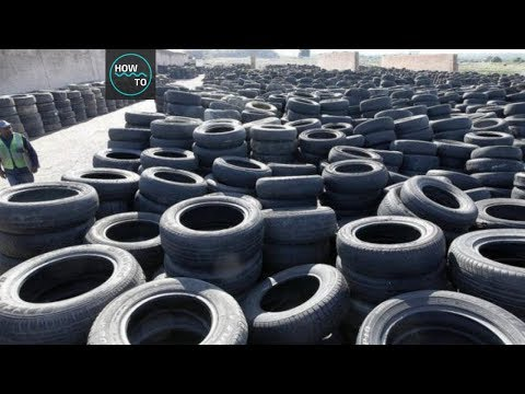Scrap Tyre Recycling Plant -- Discover Tire Recycling Technology | How To