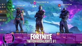 Fortnite Twitch Highlights: Vol 01