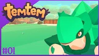 Let's Start Our TEMTEM Adventure! Temtem Gameplay Part 1