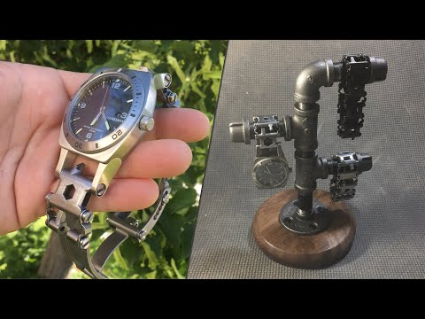 Leatherman Tread Tempo Kit And Iron Pipe Watch Stand
