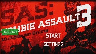 SAS: Zombie Assault 3 - Ninja Kiwi Walkthrough