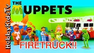 PLAY-DOH Firetruck - The Muppets Movie Ms.Piggy Rescue! [Disney] [Lego] [Duplo]