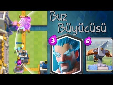 Buz Büyücüsü ve X Yayı!-Clash Royale Türkçe