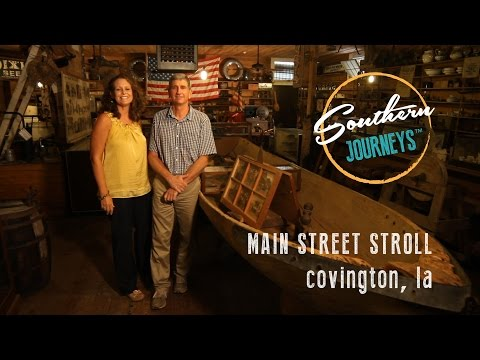 Main Street Stroll: Covington, Louisiana