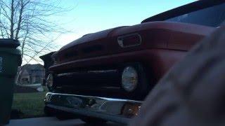 1964 Chevrolet C20 - Project STEEVE - motor running