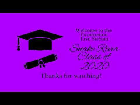 Snake River High School 2020 Graduation