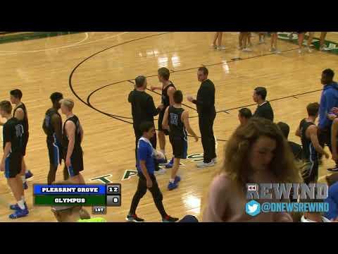 Deseret News Rewind - Pleasant Grove @ Olympus (Boys Basketball) {11-27-18}