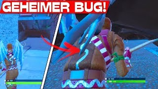 GEHEIMER BUG at THE BLOCK! | Fortnite Secret Passage in The Block