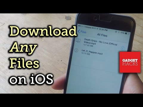 How to Download & Save Any File Type onto Your iPhone « iOS