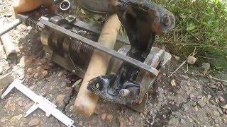 Запрессовка сайлентблока задней опоры двигателя  geely emgrand ec7