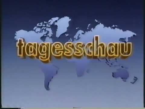 Tagesthemen - Ansage - Tageschau(Nacht)von 12./13.10.1992