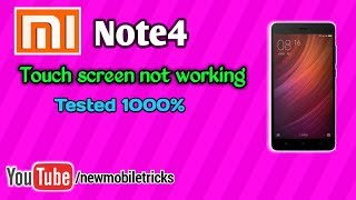 Redmi Note4 Touch screen Solution |in Telugu | by Syam | new mobiletricks |