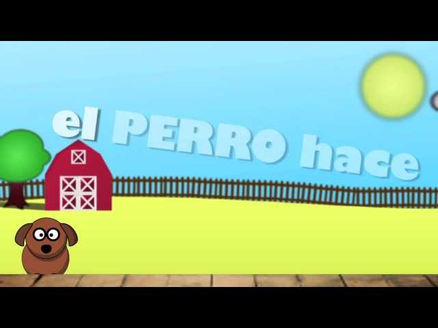 LOS ANIMALES - Sing with Señor - (Songs for Learning Spanish) The animals Travel Video