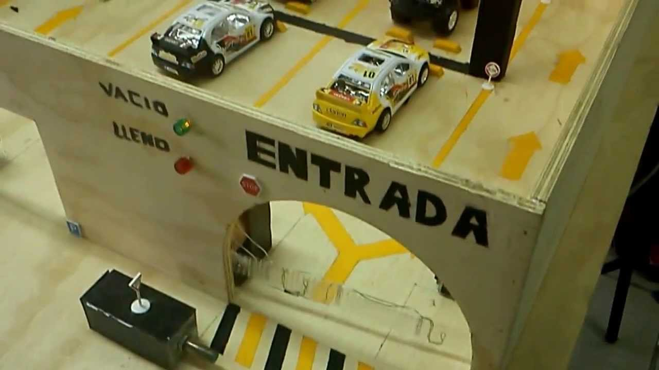Estacionamiento Automatizado Con Plc Youtube