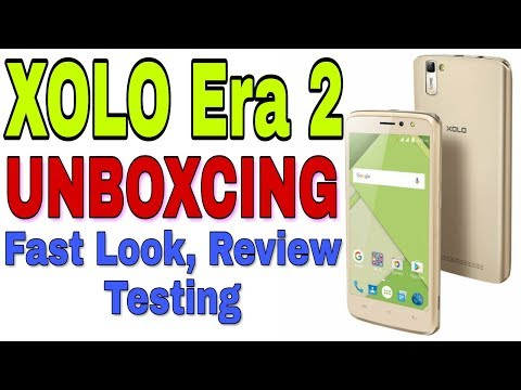 XOLO Era 2 4G With VoLTE | Gold Colour Unboxing | in Hindi | by Technical Mashup