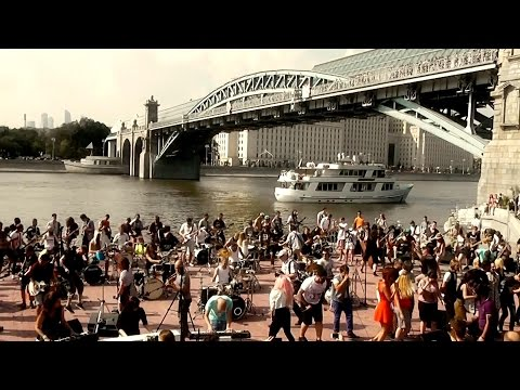 Linkin Park - What I've Done (100 musicians cover) Moscow