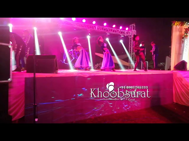 wedding reception Dance performance khoobsurat event