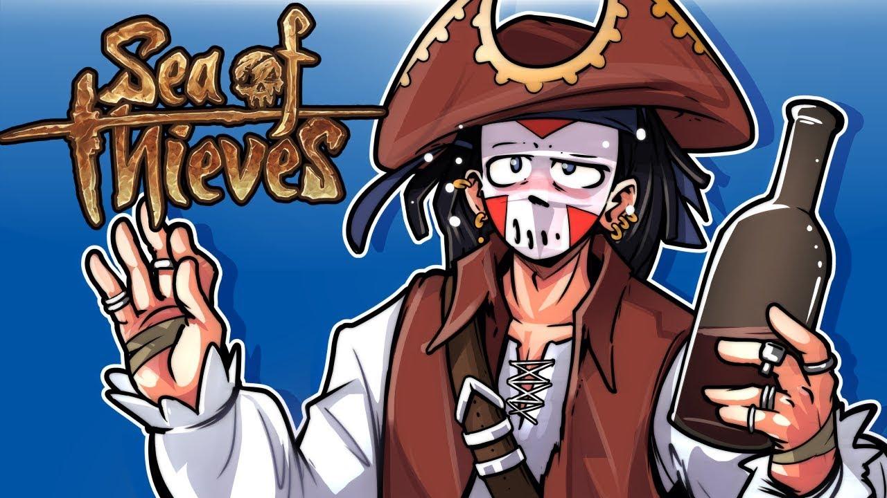 WE RRRRR PIRATES! Sea Of Thieves! - Episode 1