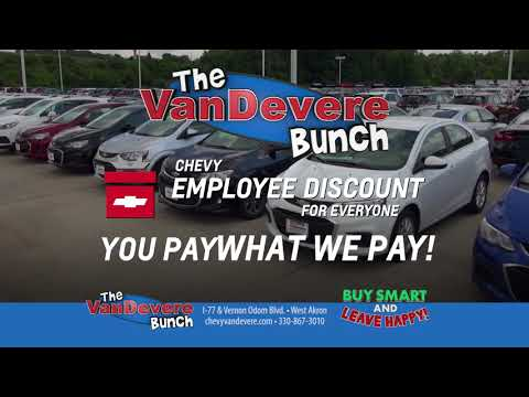 VanDevere Chevrolet - TV Commercial - Holiday Savings Silverado Colorado Malibu