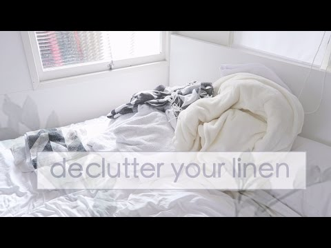 Declutter your Linen ☁ DAY 13 | Simplify your Life Challenge