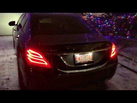 Mercedes Benz C Class Night Review