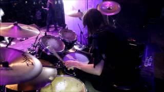 "Nils ""Dominator"" Fjellström - Dark Funeral - Vobiscum Satanas (Drumcam)"
