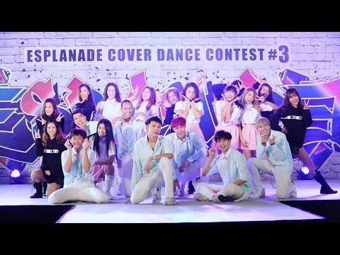 160806 Deli Project cover KPOP - Catch Me + Fire + Mansae @ Esplanade Cover Dance#3 (Semi-Final)