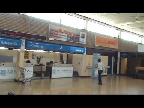 Botswana, Sir Seretse Khama airport