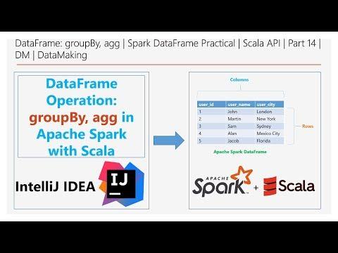 DataFrame: GroupBy, Agg   Spark DataFrame Practical   Scala API   Part 14   DM   DataMaking