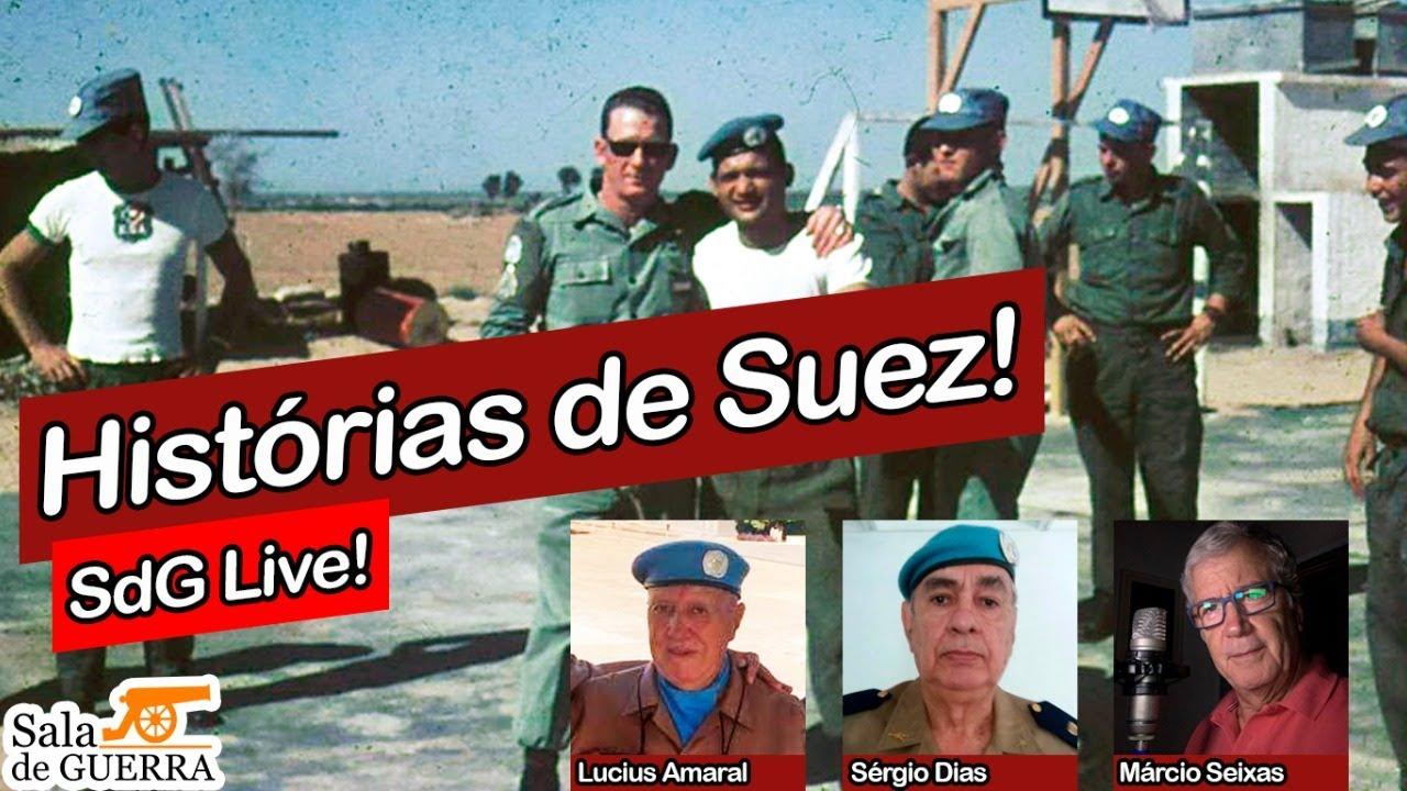 🔴 SdG LIVE - Mais Histórias de Batalhão Suez!