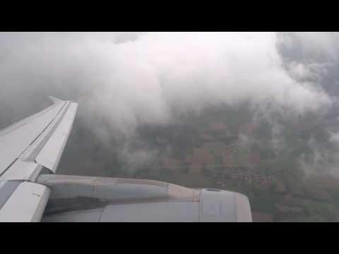 Lufthansa Airbus A321-200 Landing Arrival in Munich München