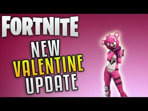 FORTNITE VALENTINES UPDATE | COIN SYSTEM | C-DOGG2002