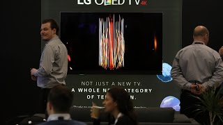 stunning lg oled g6 tv with dolby vision at invision uk hts 2016